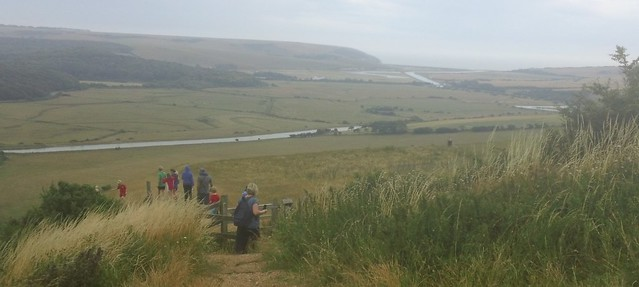 Cuckmere river & Exceat Gap
