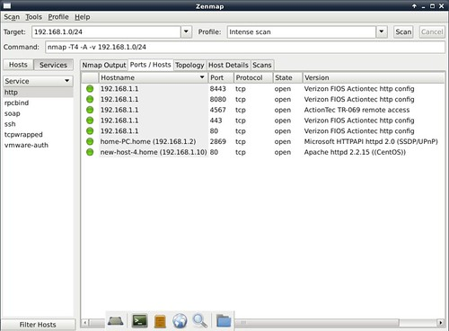 How to scan network with Nmap GUI - Xmodulo