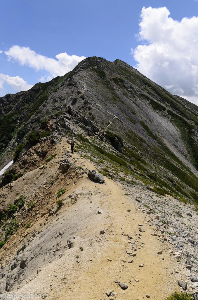 20130811 鷲羽岳へ