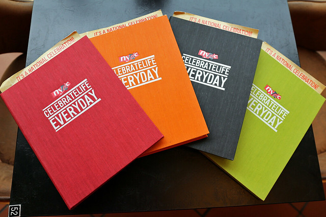 New menus in four colours