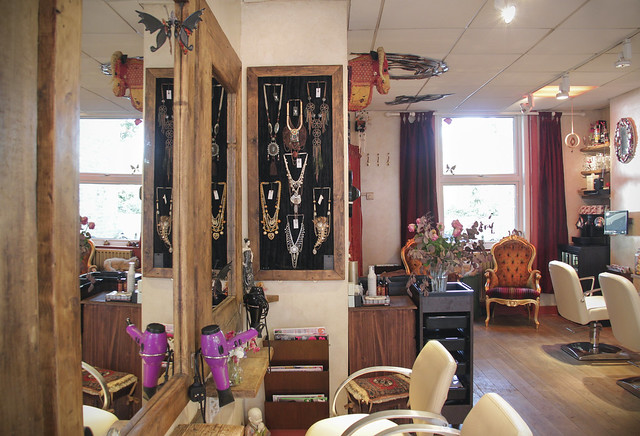Revamp jewellery was installed into a local hair salon