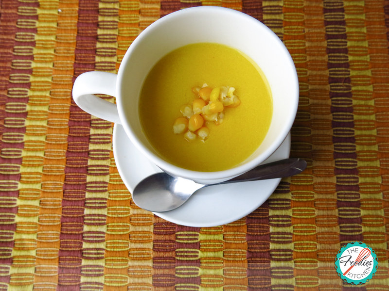 Corn Atole (sweet corn and milk beverage)