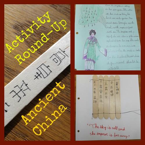 Ancient China Activity Round-Up