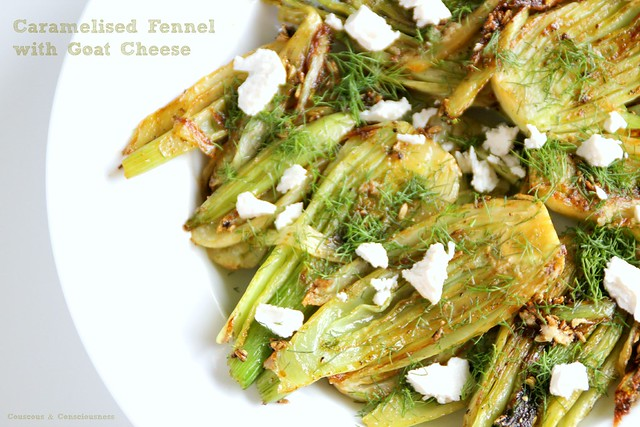 Caramelised Fennel with Goat Cheese 2