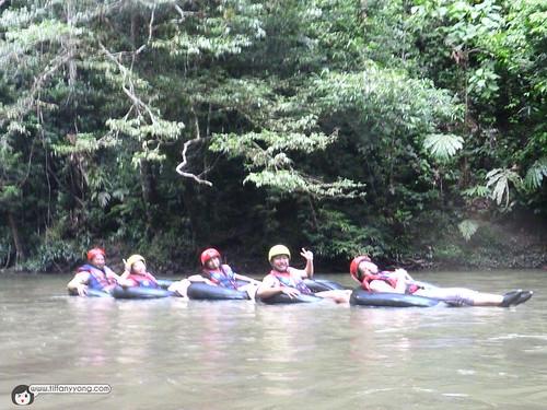 Tubing at Temburong