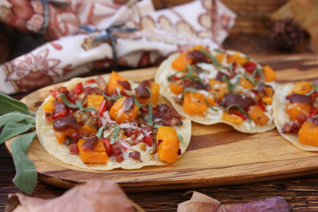 Butternut Squash GF Pizza