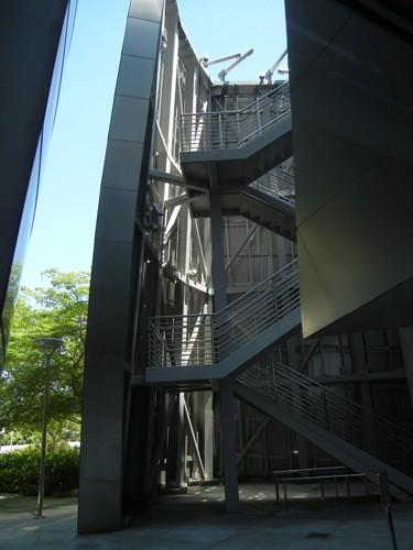 DSCN8466 _ Structure Detail, Walt Disney Concert Hall, Los Angeles, July 2013