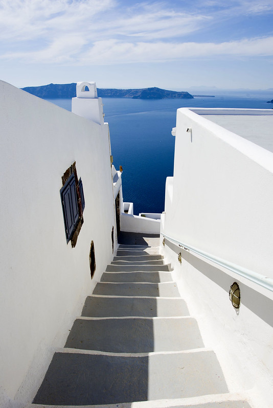 Santorini Greece - Hike from Fira to Oia