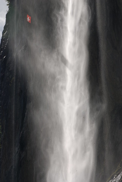 Waterfall at Lauterbrunnen