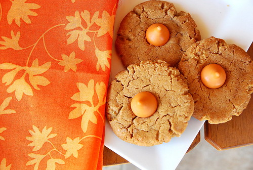 Pumpkin Cookie Butter Kisses