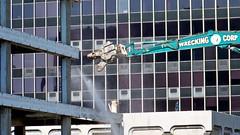 Demolition of 1815 North Fort Myer Drive, April-November 2008