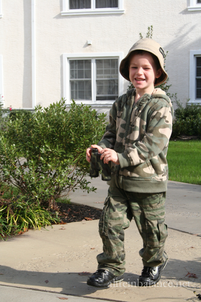 Homemade Halloween Costumes: Soldier