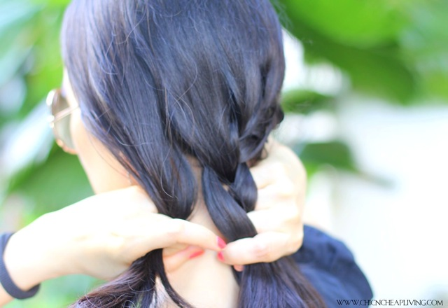 Side braid side by Chic n Cheap Living
