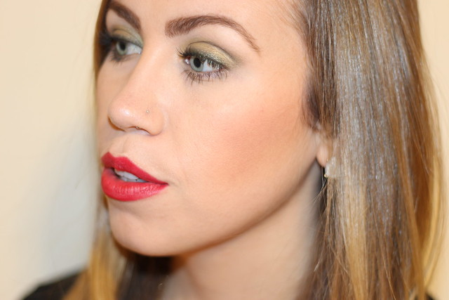 Living After Midnite: Makeup Monday: Holiday Red