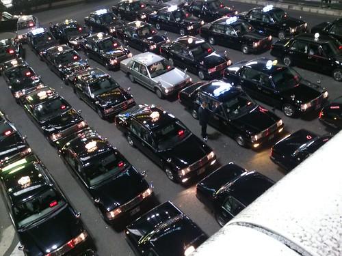さすが大宮タクシーの数が違う!