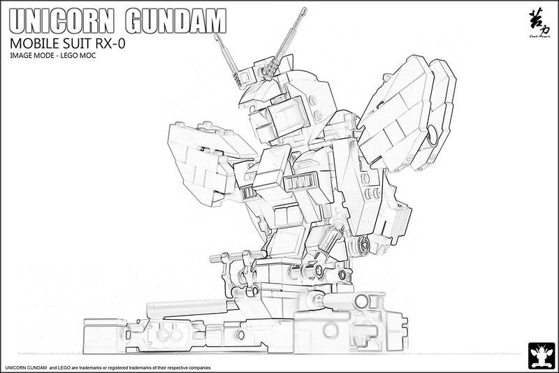 LEGO UNICORN GUNDAM 0004