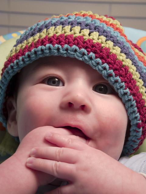 Cappellino per Neonato all Uncinetto  Schema Base  fd1f9b269ec8