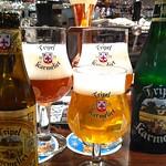 ベルギービール大好き!!トリプル・カルメリートKarmeliet Tripel @デリリウムカフェ レゼルブ