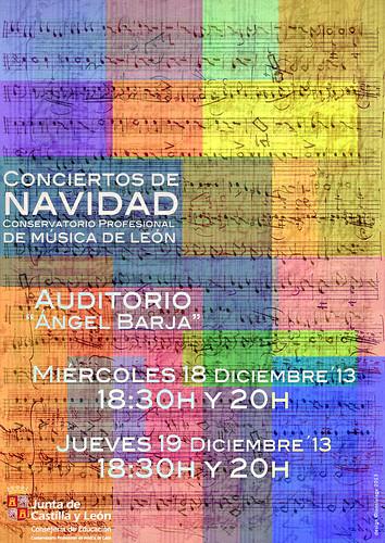 CONCIERTOS DE NAVIDAD 2013 - CONSERVATORIO DE MÚSICA DE LEÓN by juanluisgx