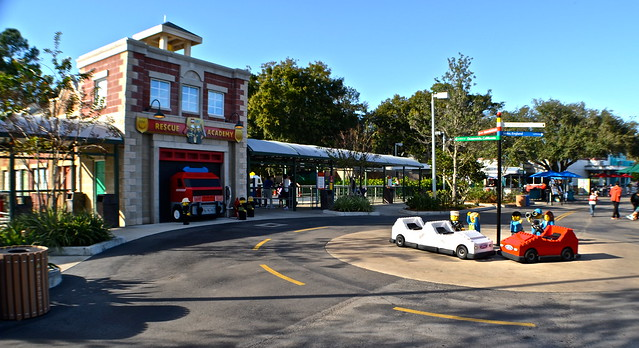 Legoland, Florida - Town and roads