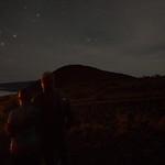 Emily and me, stars, Mauna Kea