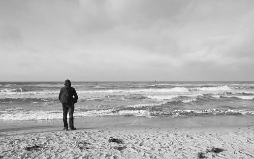 Ein Blick hinaus aufs Meer