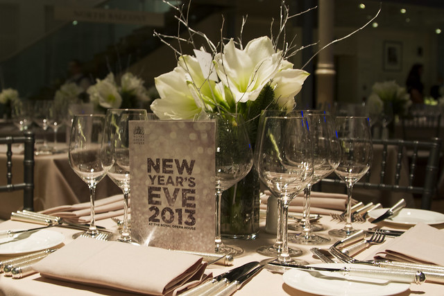New Year's Eve 2013 at the Royal Opera House © ROH Restaurants / Lia Vittone 2013