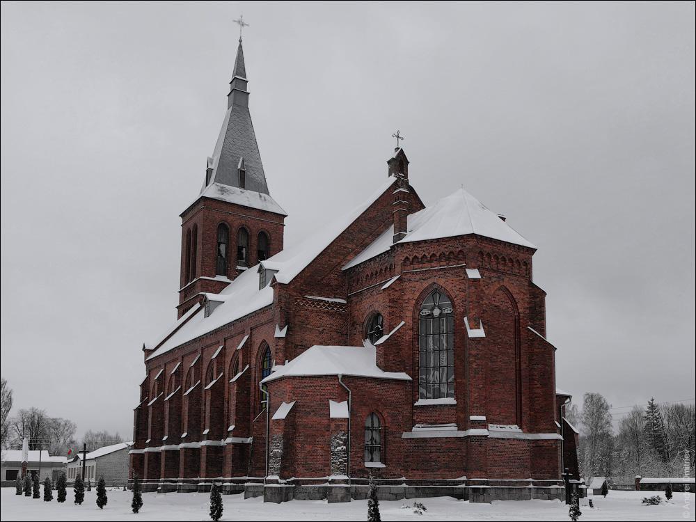 Ольковичи, Костел Посещения Девы Марии