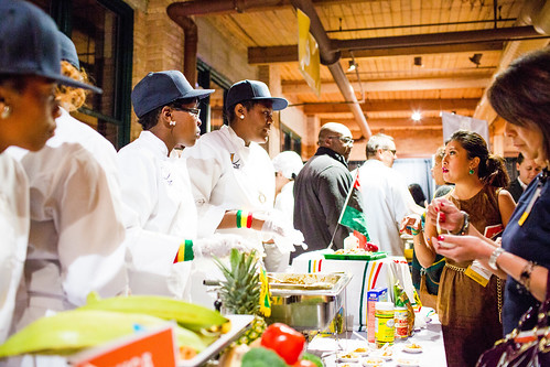 """Cooking Up Change"" involved more than one hundred students and over 700 guests."