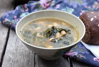 tuscan white bean & kale soup