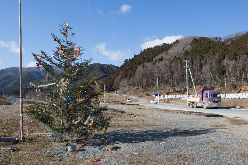 Christmas Tree and Memorial, Ogatsucho Kamiogatsu