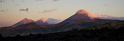 sol guatemala amanecer volcanes