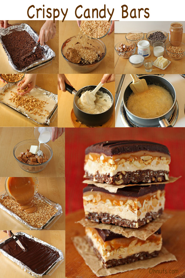 Crispy Candy Bars
