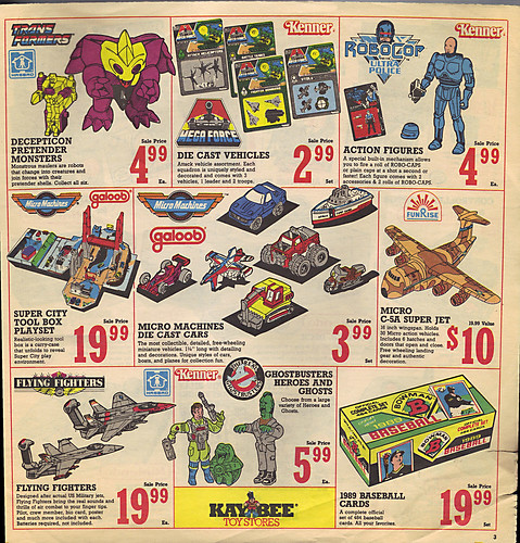 KAY•BEE TOY STORES :: Christmas in October pg.3  (( OCTOBER,8 1989 ))