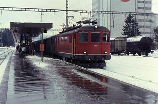 16.02.91 Herzogenbuchsee SBB Re 4/4¹ 10045
