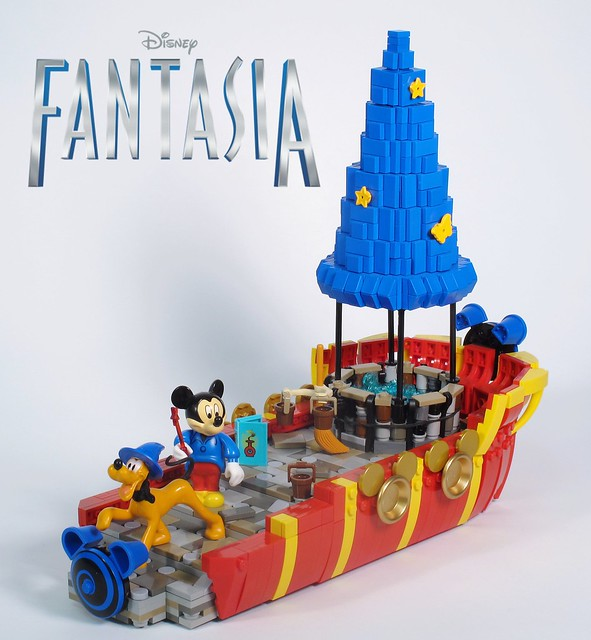 Lego Disney Mickey Mouse Fantasia Float