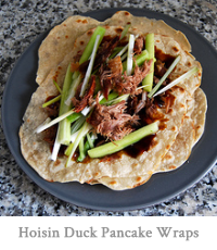 Hoisin Duck Pancake Wraps