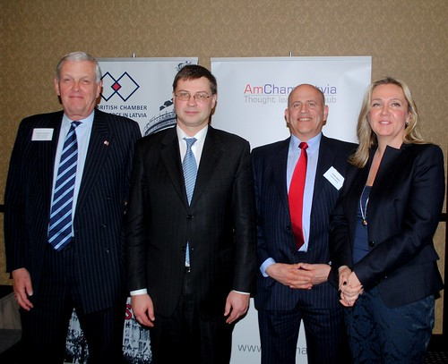 Joint Chamber Dinner with Valdis Dombrovskis
