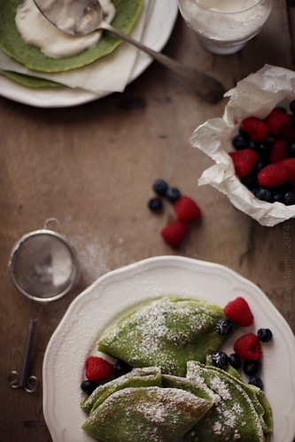 greentea crepes