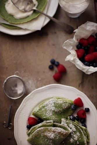 greentea crepes