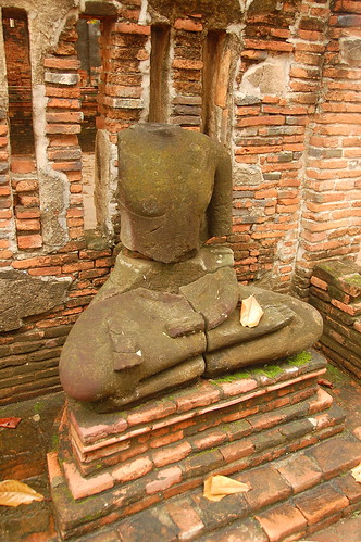 Missing Buddha Head