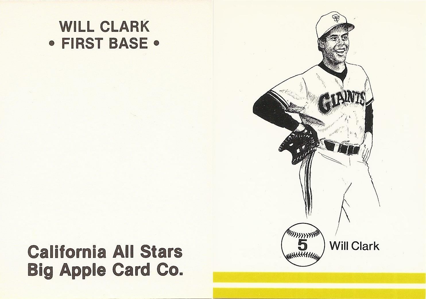 Will Clark Price List Supercollector Catalog