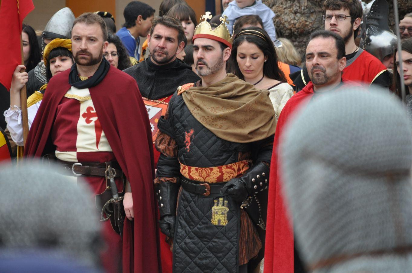 2. Recreación historia. Llegada de Pedro I a Montiel. Autor, InfantesDigital