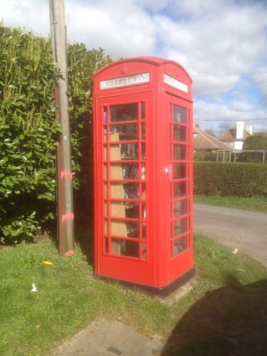 Hintlesham Telephone Box Book Exchange.