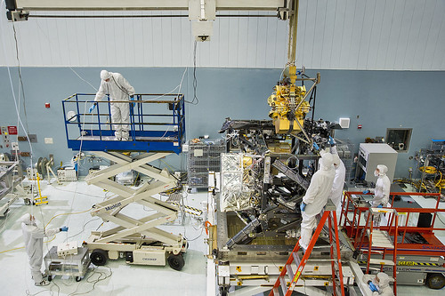 JWST's Near-Infrared Camera Installed