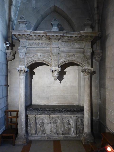 075 Monument funéraire d'Arthur de Magneville, L'église Saint-Jean-l'Évangéliste, La Haye-du-Puits