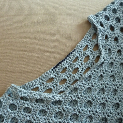 Dot-to Dot Crochet Jumper