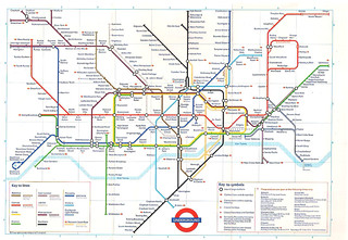 October 1988 Tube Map