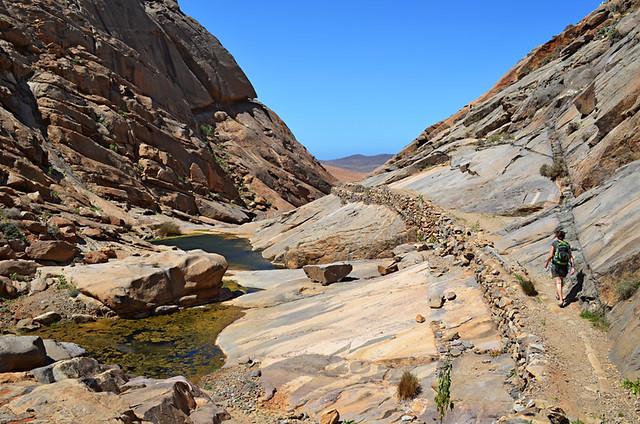 Rocky ravine, Vega de Rio Palmas, Fuerteventura