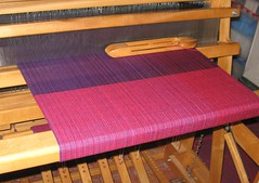 blanket on loom
